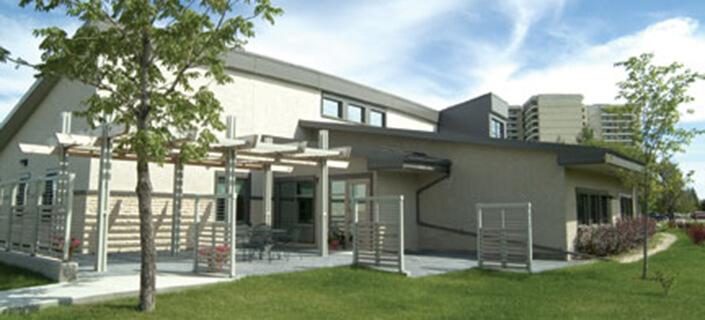 Grace Hospice building