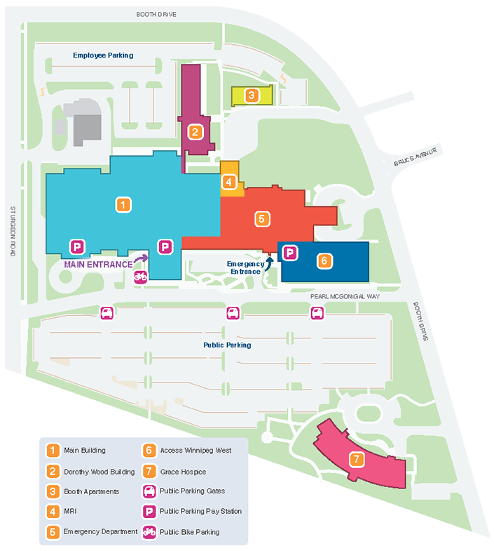 Facility Site Map