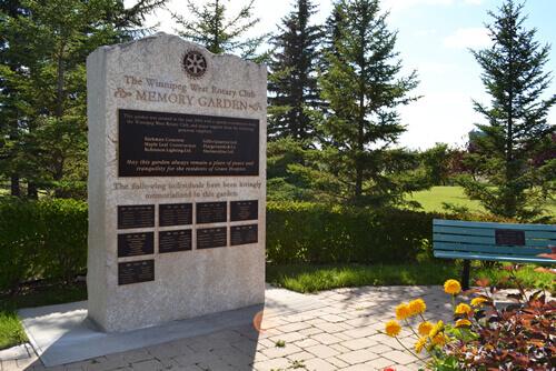 Memory Garden Memorial